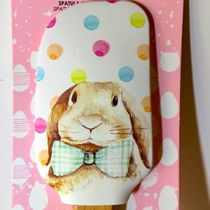 Floppy Ears Easter Bunny Silicone Spatula Cutter